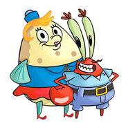 SpongeBob SquarePants - Mrs. Puff and Mr. Krabs