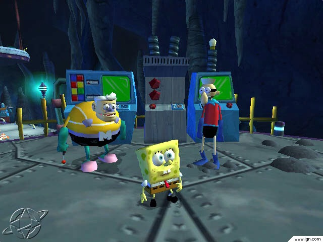 Mermaid Man & Barnacle Boy: The Video Game