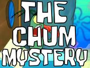 The Chum Mystery