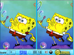 Spongebob spot the Difference