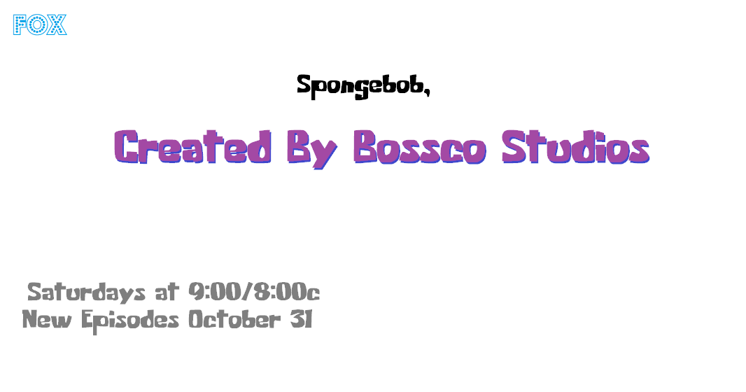 Spongebob, Created By Bossco Studios