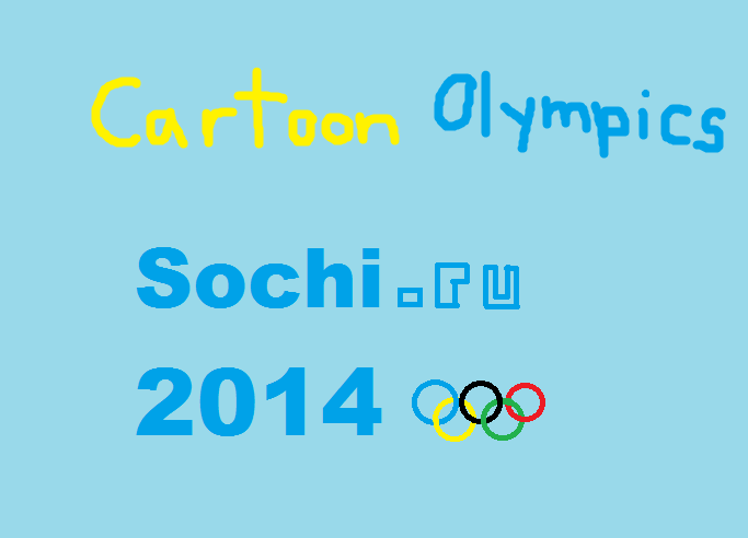 Cartoon Olympics: Sochi 2014