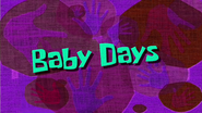 BabydaysSBF
