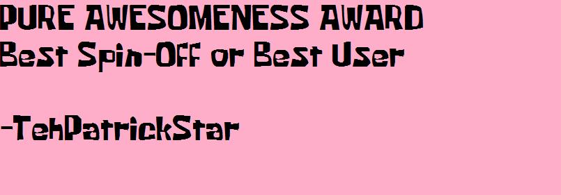 Pure Awesomeness Awards