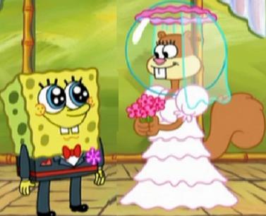 And sandy spongebob SpongeBob SquarePants: