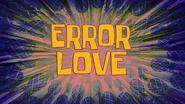 Error Love