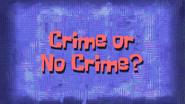 Crimeornocrime