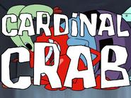 Cardinal-crab