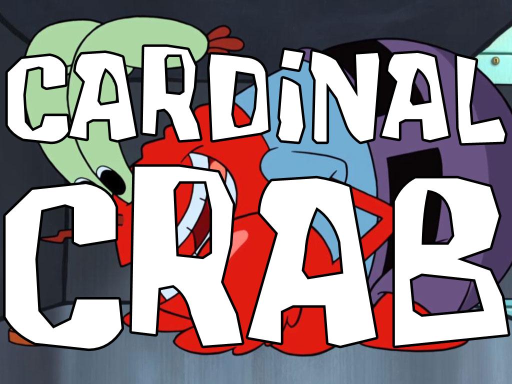 Cardinal Crab