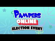 Pampers Online Election Event Oct 31 - Nov 7