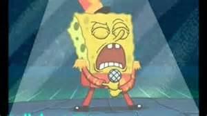Spongebob Sings Indoors Superbowl
