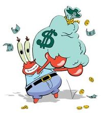 250px-Mr. Krabs' Love of Money