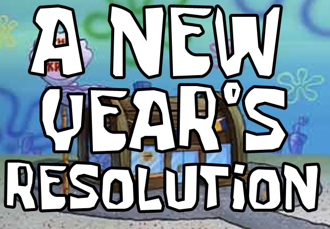 A New Year's Resolution