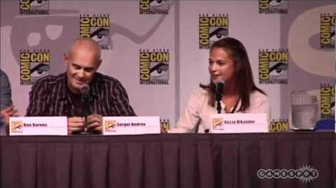 """""""The Seventh Son"""" Comic-Con 2011 (Ben Barnes, Jeff Bridges, Sergei Bodrov, Alicia Vikander)"""