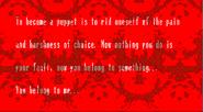 Specimen 6 Disturbing Message