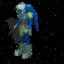 Humanoid BlueSkinned