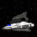 BluCruise Starship Fighter 2