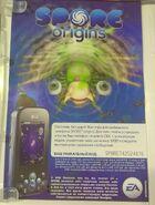 Подарочный лист Spore Origins, Галактическое издание