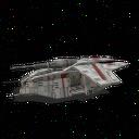 Legatus Low Altitude Gunship Red