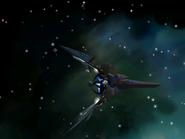 Um exemplo de espaçonave.