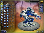 Демо версия редактора существ скриншот
