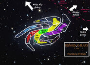 Bunsen Galaxy Political Map