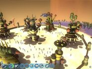 Demo-Spore Stage Space