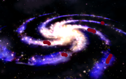 Galaxy with colony
