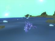 Голограмма плавает в воде.png