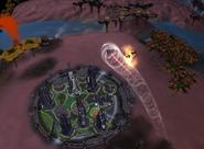 Mega-Torre Destruindo OVNI