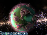 Demo-Spore Stage Space 7