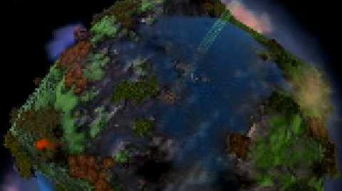 Spore - Voando em volta de um Planeta Cubo