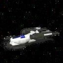 BluCruise Starship Fighter 3