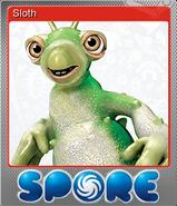 Sloth Металлическая Карточка