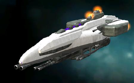 A Mithadorn Battleship