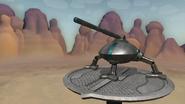 Serindia Mobile Artillery Cannon