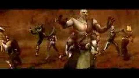 Mortal Kombat Armageddon music video