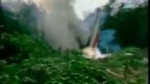 """Katastrofa lotu Air France 296 - """"tylko"""" 3 osoby z 136 zginęły."""
