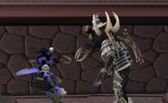 Loron Boss versus Loron Demon