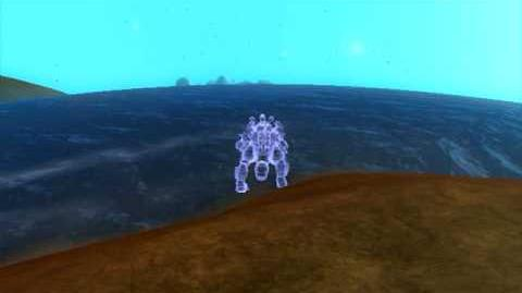 Can a hologram swim