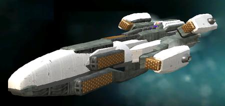 A Mithadorn Strike Cruiser