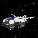 BluCruise Starship Fighter 1
