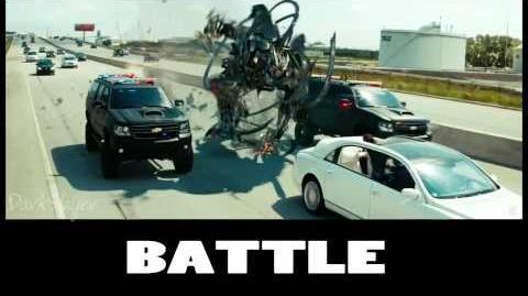 Transformers DOTM Score -7- Battle