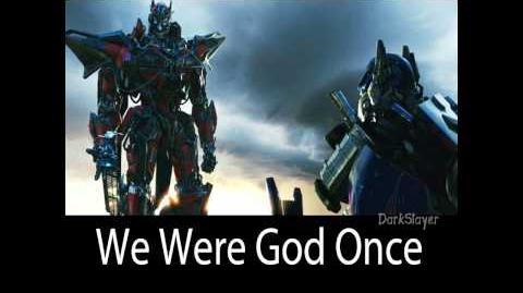 Transformers DOTM Score - 6 - We Were Gods Once