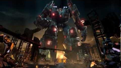 Gordehmard/New Transformers Fall of Cybertron trailer