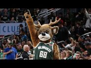 Every Bango Half-Court Behind The Back Trick Shot At Fiserv Forum