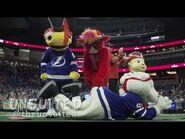 Benny the Bull and ThunderBug at the Mascot Games!