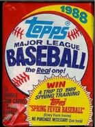 1988 Topps Wax Pack