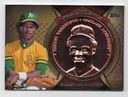 2013 Topps Proven Mettle Copper Coin