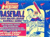 2001 Bowman Heritage Baseball